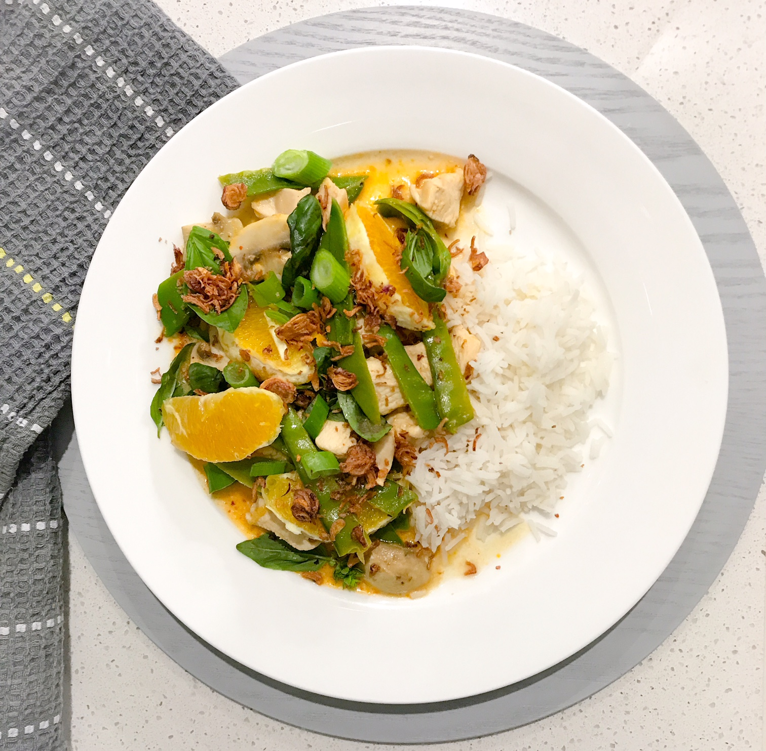 Thai Organge Chicken